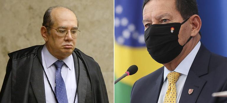 Ministro e Mourão estão no centro da polêmica