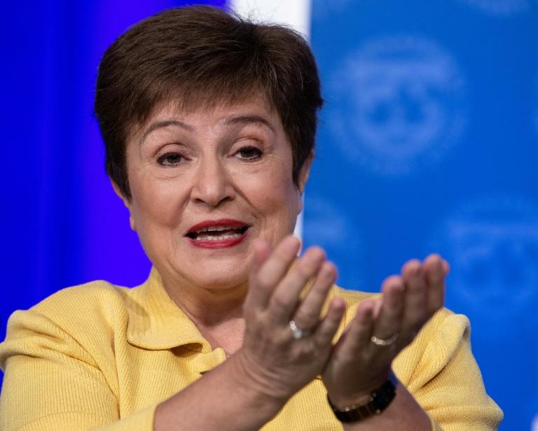 (Arquivo) A diretora gerente do FMI, Kristalina Georgieva