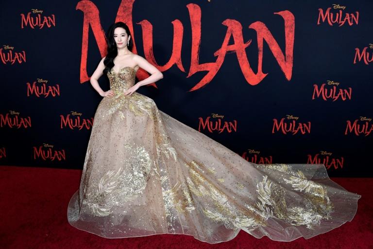 Yifei Liu, protagonista do filme 'Mulan', em Los Angeles