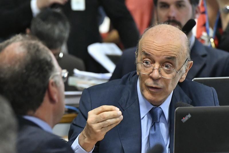 Serra argumentou ao STF que tem direito a foro; investigações estão suspensas