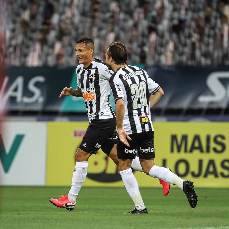 Lateral esquerdo, Guilherme Arana, marcou o segundo gol do Atlético na partida