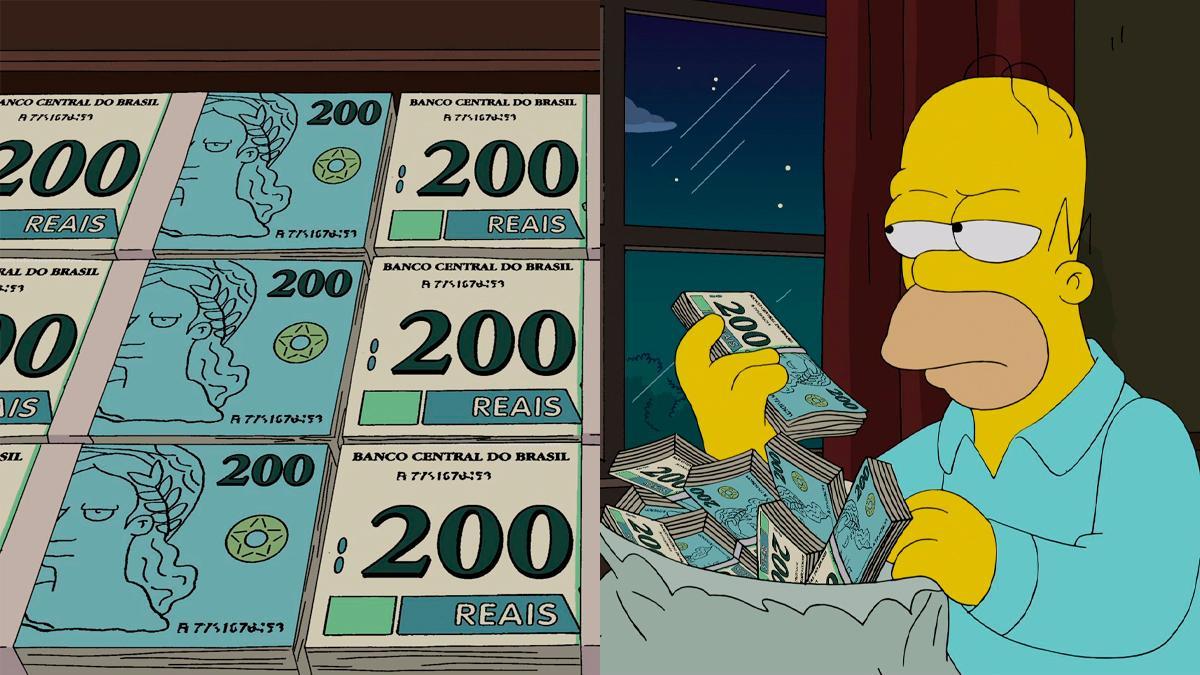 No desenho, Homer se torna árbitro da Copa do Mundo e passa por testes de suborno no Brasil