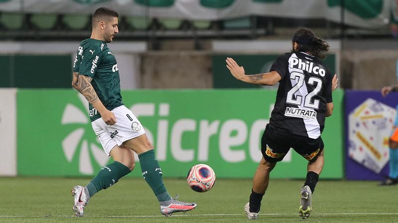 Palmeiras e Ponte Preta se enfrentaram no Allianz Parque