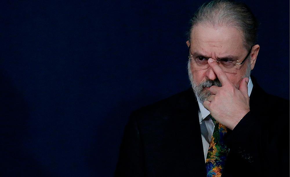 O procurador-geral Augusto Aras critica  supostos abusos da Lava Jato