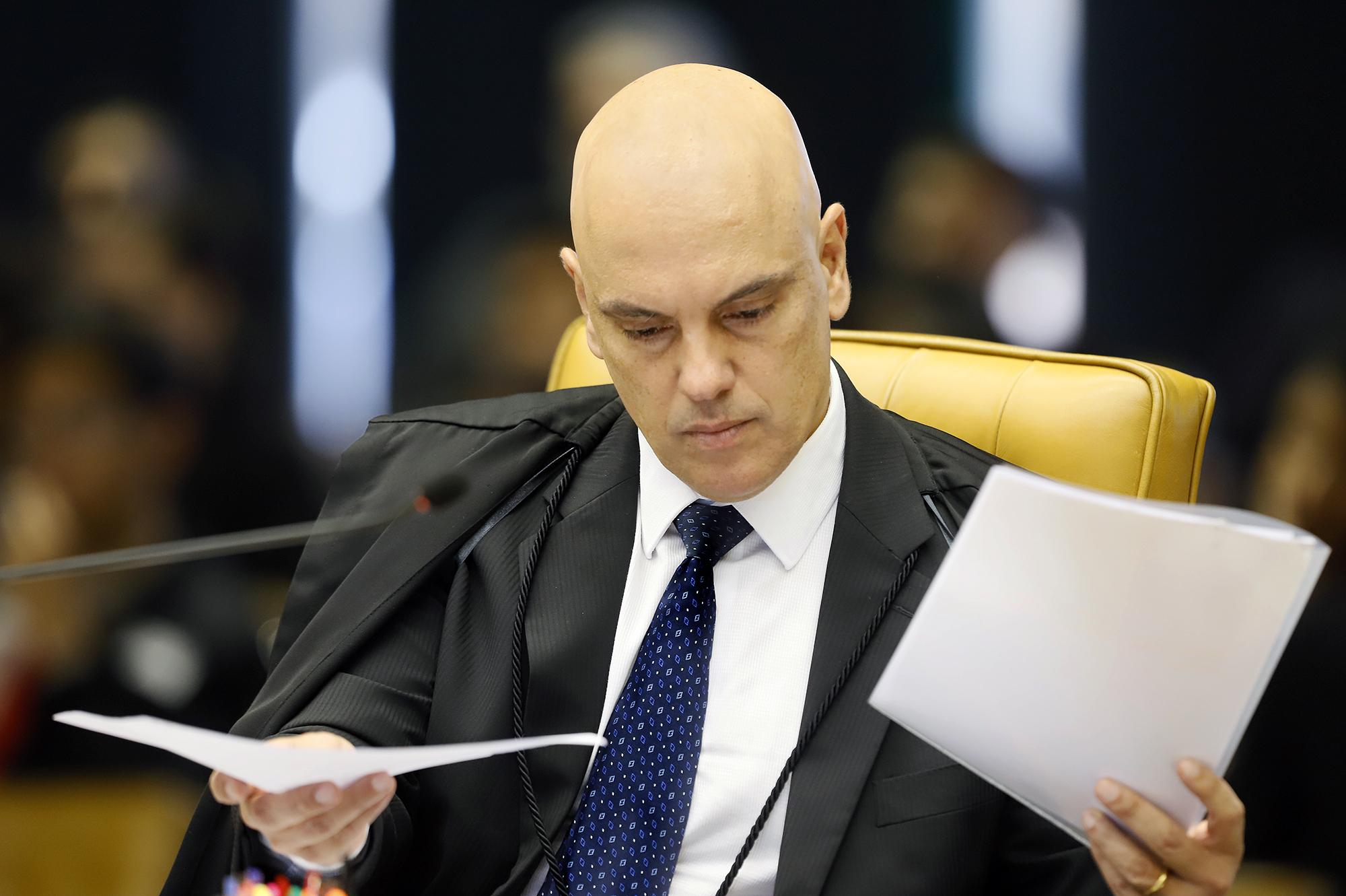 O ministro Alexandre de Moraes, do Supremo Tribunal Federal