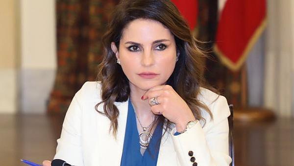 Manal Abdel Samad, ex-ministra da informação do Líbano
