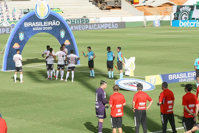 São Paulo e Goiás foi adiado devido Esmeraldino ter jogadores positivos para Covid-19