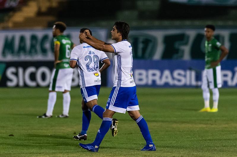 Marcelo Moreno marcou dois gols na partida