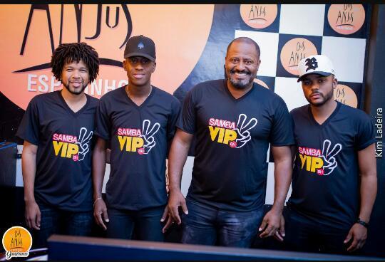 Samba Vip BH é formado por músicos de Santa Luzia