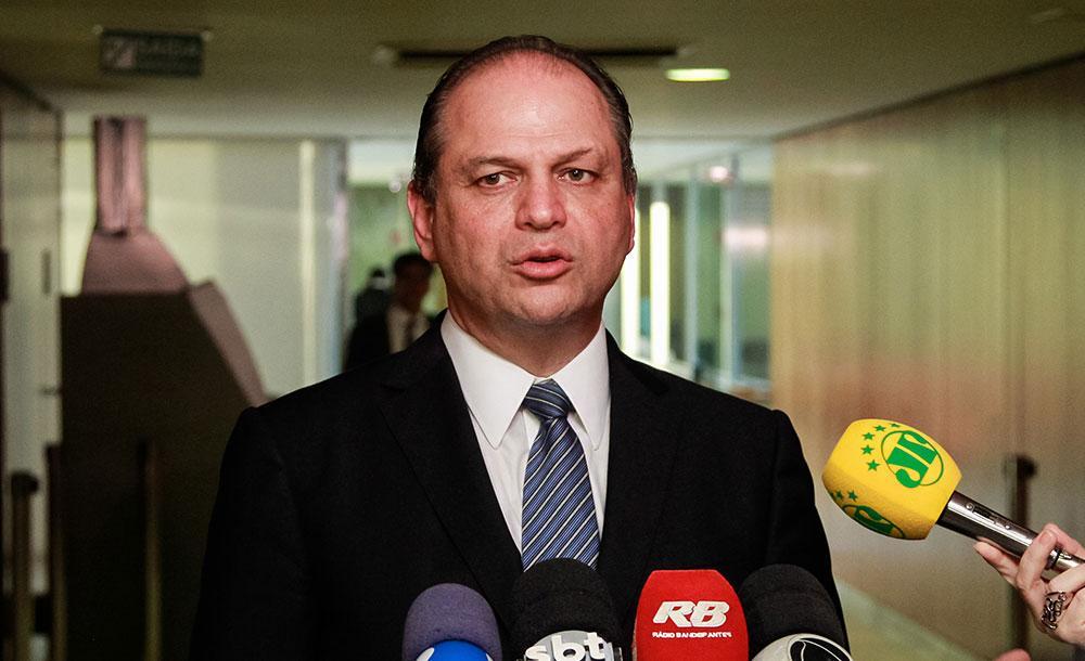 Ricardo Barros elogiou o trabalho do general e criticou os ex-ministros Luiz Henrique Mandetta e Nelson Teich