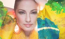 No novo disco, Gloria faz uma conexão entre Brasil e Cuba, mas é o samba que se impõe como sonoridade protagonista (Reprodução Instagram @gloriaestefan)