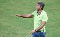 Renato Gaúcho justificou time misto no Brasileirão (Lucas Uebel/Grêmio)