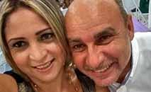 Márcia e Queiroz estão em prisão domiciliar (Reprodução redes sociais)