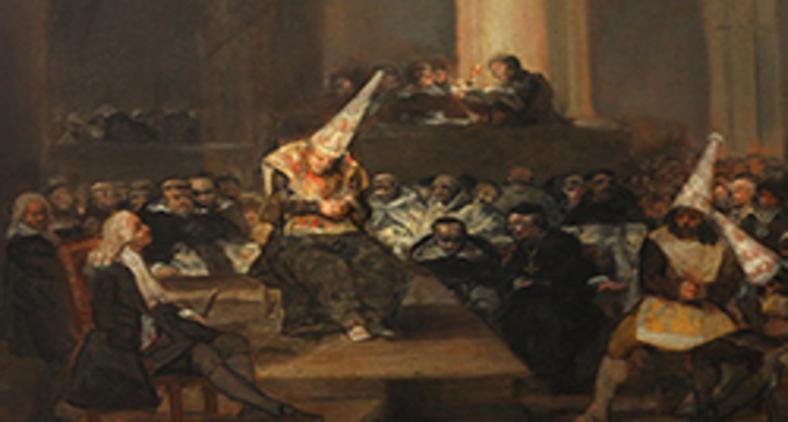 'Cena de uma Inquisição', de Francisco Goya (Google Art Project/ Wikimedia)