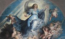 Trecho do quadro 'Assunção de Maria' de Rubens (Wikimedia)