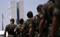 Preparativos finais para o desfile de 7 de Setembro, na Esplanada dos Ministérios (Agência Brasil)
