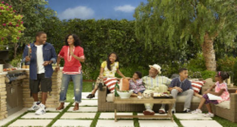 Elenco de Black-ish na primeira temporada (Copyright ABC / Bob D'Amico)
