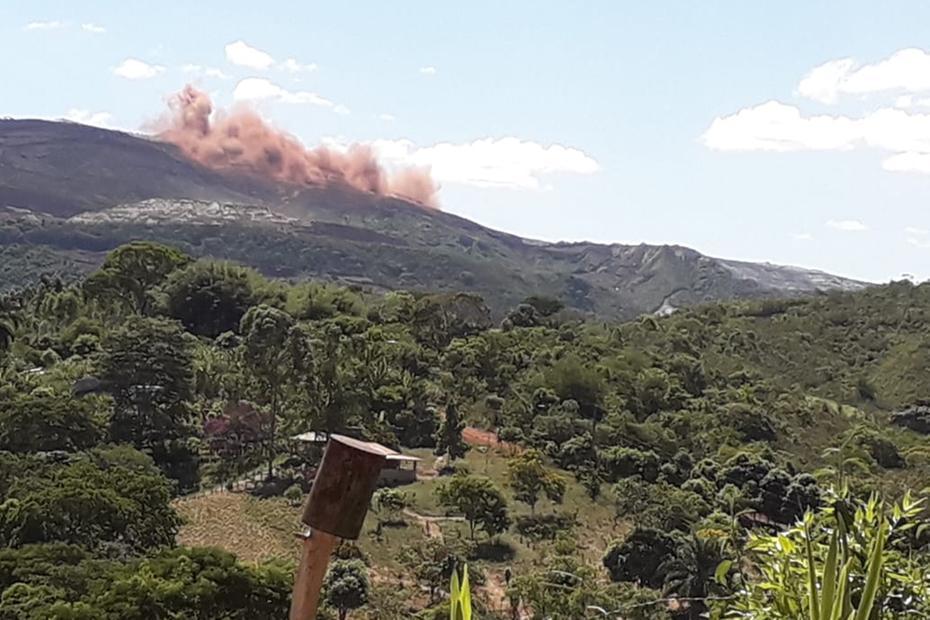 Anglo American tem barragem de mineração em Conceição do Mato Dentro