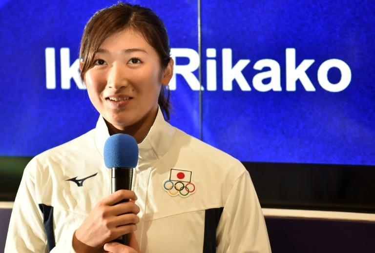 A nadadora Ikee Rikako é esperança de medalha do Japão nos Jogos de Tóquio