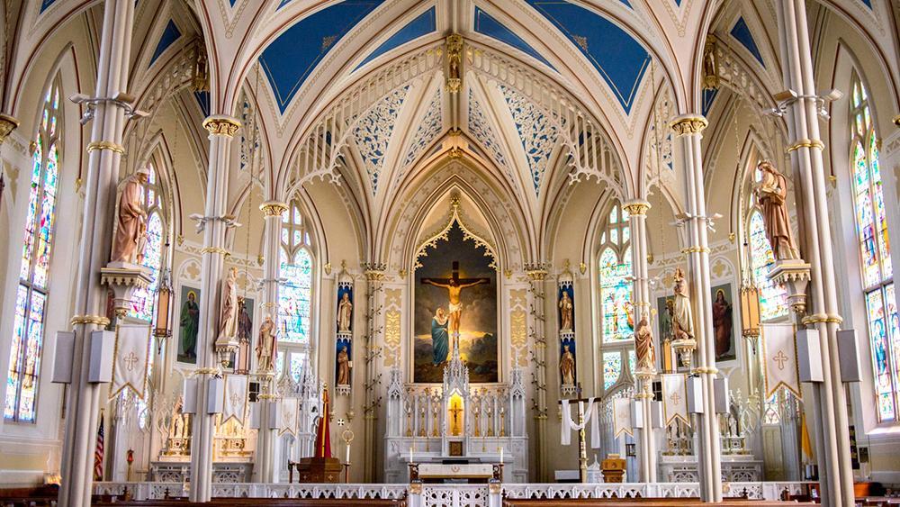 A Igreja Católica tem nos Evangelhos a fonte da sua pregação diária