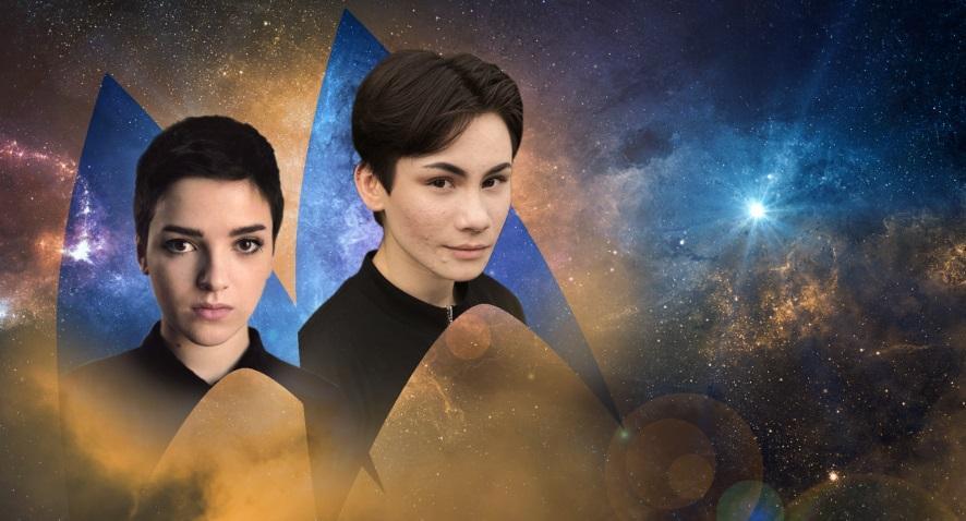 O ator Blu Del Barrio vai interpretar Adiara, personagem não-binário e o ator trans Ian Alexander vai dar vida ao homem trans Gray