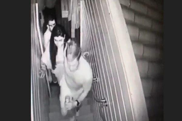 Imagens de câmera de segurança contêm indícios do crime