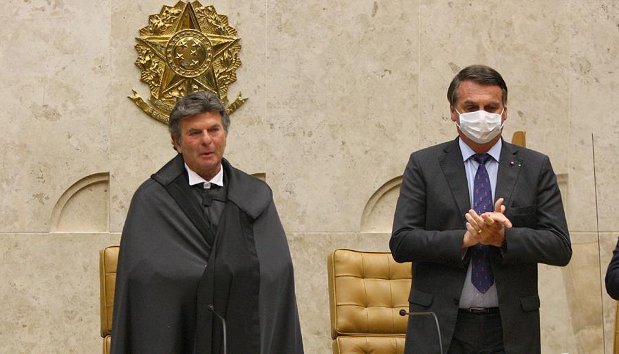 Sessão de posse do ministro Luiz Fux na Presidência do STF