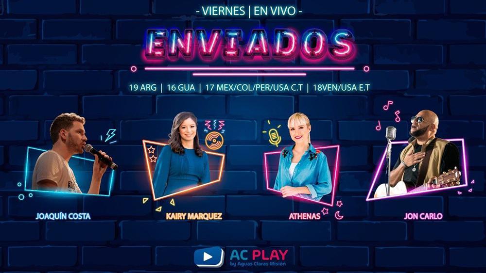 Enviados, o primeiro reality show de música católica em espanhol, será transmitido online através do portal de notícias e entretenimento AC Play