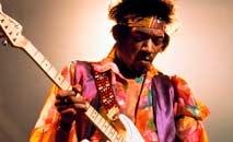 Canhoto, Hendrix tocava com as cordas invertidas com habilidade única (WikiCommons)