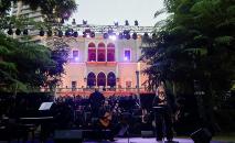 Palácio Sursock Chochrane, em Beirute (ANWAR AMRO/AFP)