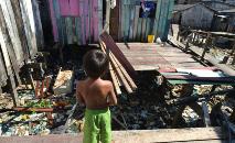 Antes da pandemia, a ONU já havia alertado para o agravamento da fome no mundo (ABr)