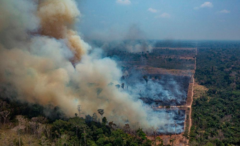 Governo segue com discurso negacionista sobre incêndios na Amazônia e no Pantanal