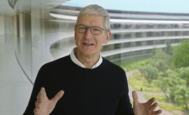 O CEO da Apple, Tim Cook (Handout/AFP)