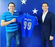 Belletti está de volta ao Cruzeiro, mas agora como cartola (Reprodução/ Cruzeiro)