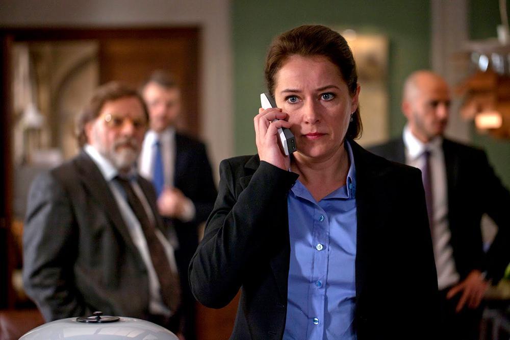 Sidse Babett Knudsen interpreta Brigitte Nyborg em Borgen