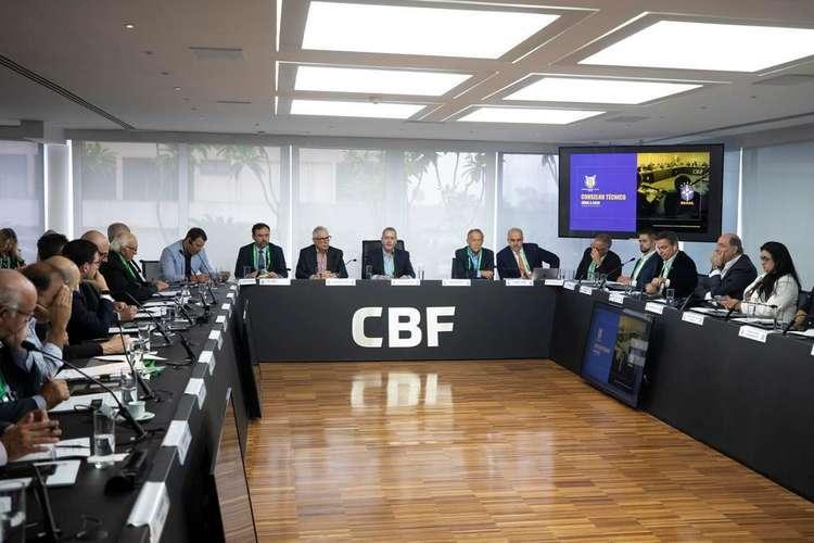 Reunião da CBF com os clubes será por videoconferência e não presencial