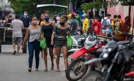 Desde o início da pandemia, nações da América registraram mais de 50,5 milhões de casos do novo coronavírus, com cerca de 530 mil mortes (AFP)