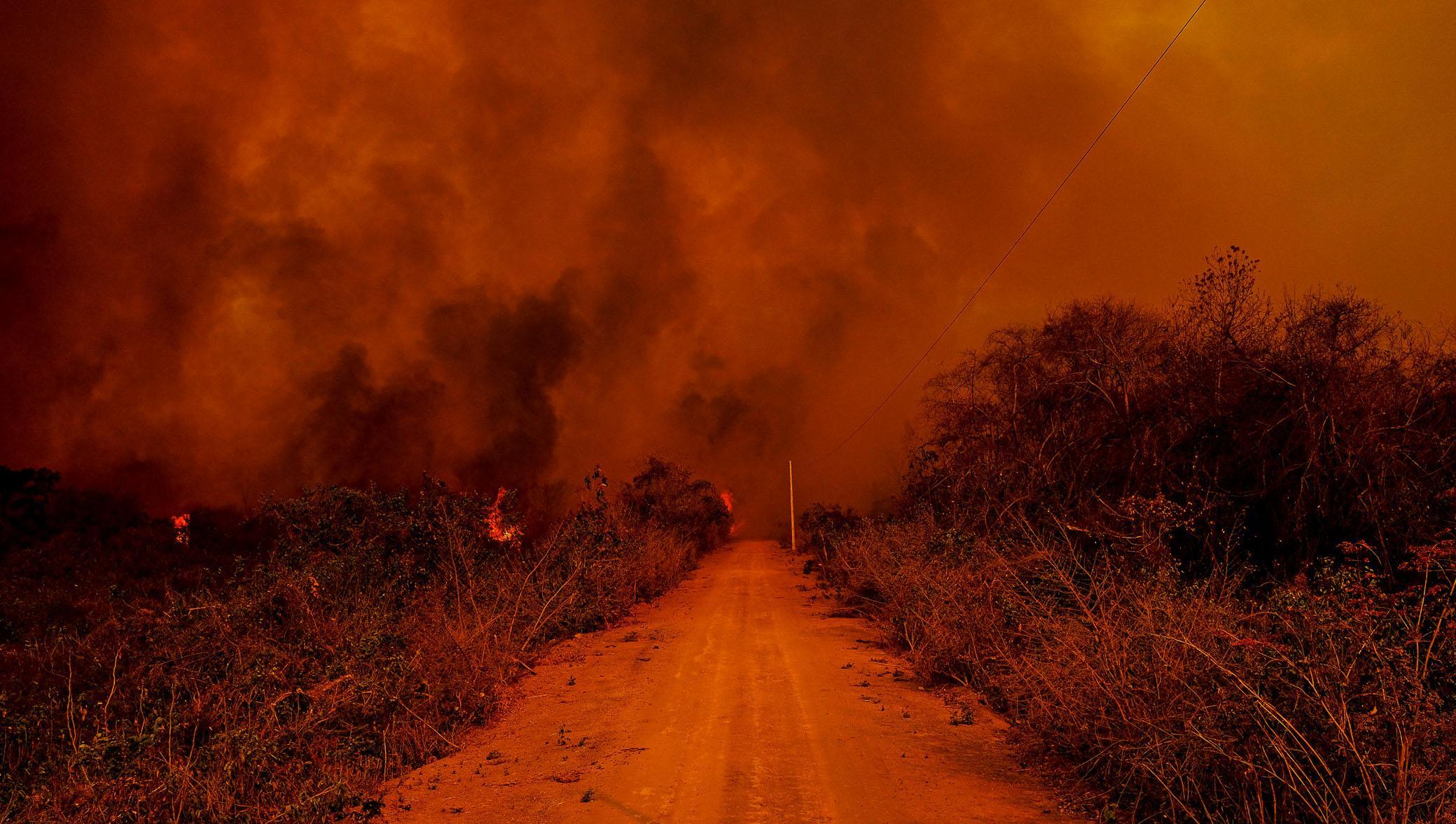Perícias apontam ação humana como causa da origem das queimadas na região