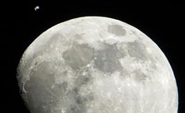 Antes disso, agência lançará dois testes de voo ao redor do satélite (Nasa/AFP)