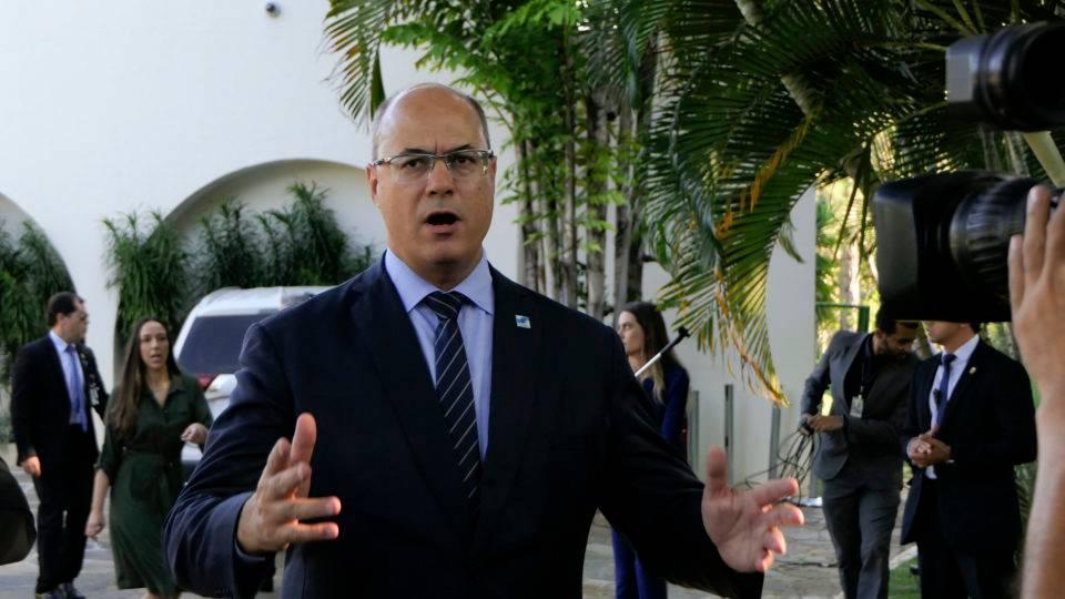 Governador está temporariamente afastado do cargo por decisão do STJ
