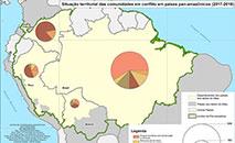 Atlas de conflitos socioterritoriais na Pan-Amazônia teve coordenação da CPT (Reprodução)