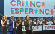 Sandy e Junior no show de abertura do Criança Esperança 2019 (Reprodução/Instagram)