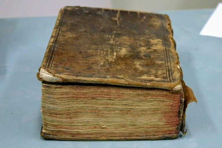 O volume que inclui obra de teatro de Shakespeare