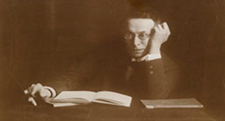 """Karl Kraus (1874?""""1936), um dos mais importantes escritores austríacos do início do século 20 (Charlotte Joel-Heinzelmann/Wikimedia)"""
