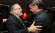 Aras é considerado aliado do presidente Jair Bolsonaro (Isac Nóbrega/PR)