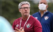 Técnico Odair Hellmann tem vários desfalques em razão da covid19 (Divulgação Fluminense)