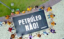"""O Greenpeace afirma que o grupo francês """"apostou em Jair Bolsonaro"""", para reativar seus negócios (Kamila Oliveira / Greenpeace)"""