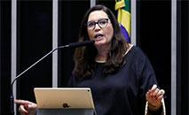 Bia Kicis é uma das investigadas no inquérito dos atos antidemocráticos aberto em abril, (Luis Macedo/Câmara dos Deputados)