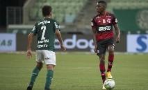 Partida terminou 1 a 1 no Allianz Parque (Alexandre Vidal/Flamengo)