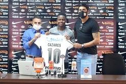 Cazares ganha a camisa 10 do Corinthians (Rodrigo Coca/Agência Corinthians)